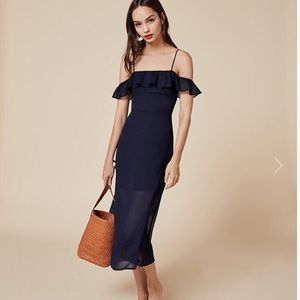 Reformation Hydrangea Dress